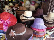 Getting too hot under the sun? Grab a hat here! @ Jonker Street