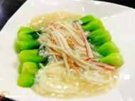 蟹扒小白菜