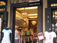 One of the boutique shop